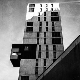 Architecture photographie en noir et blanc