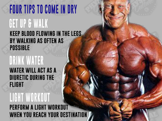 Traveling for a Bodybuilding & Physique Event and Water Manipulation