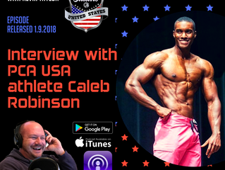PCA USA Podcast: Episode Two | An Interview with PCA USA Athlete Caleb Robinson