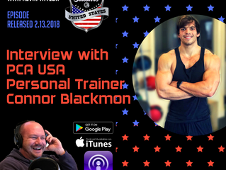 PCA USA Podcast: Episode Six | An Interview with Florida-Based Personal Trainer Connor Blackmon