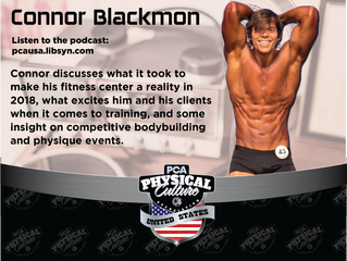 PCA USA Podcast: Episode 23 | Kevin Taylor Interviews Connor Blackmon of Heroes Fitness