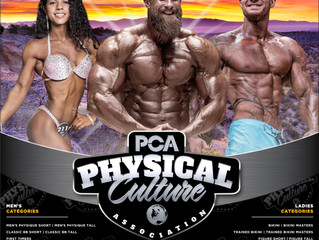 PCA USA Kicks Off Premier Bodybuilding and Physique Event in Albuquerque, New Mexico