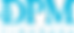 Logo azul sobre fondo blanco - CARLOS FA