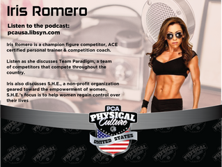 PCA USA Podcast: Episode 21 | Kevin Taylor Interviews Iris Romero of Iris Romero Fitness & Team