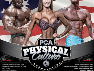 PCA USA Brings Big Changes to Competitive Bodybuilding and Physique Events in Florida on August 25th