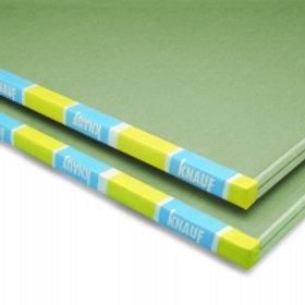 Placa de yeso verde