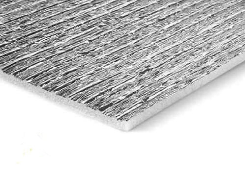 Membrana para techo aluminizada