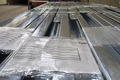 estructura steel framing en paquete Uruframe