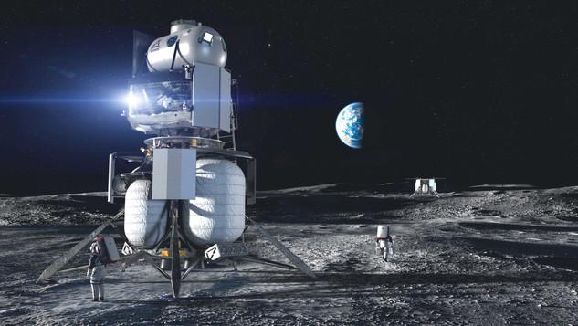 Blue Origin's Moon Lander