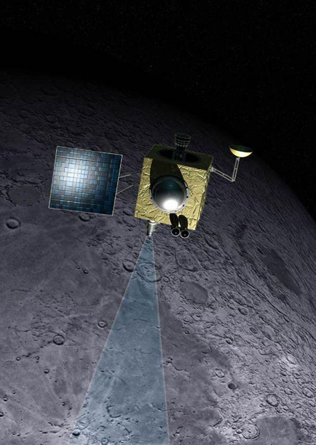 2008 - ISRO enters moon orbit