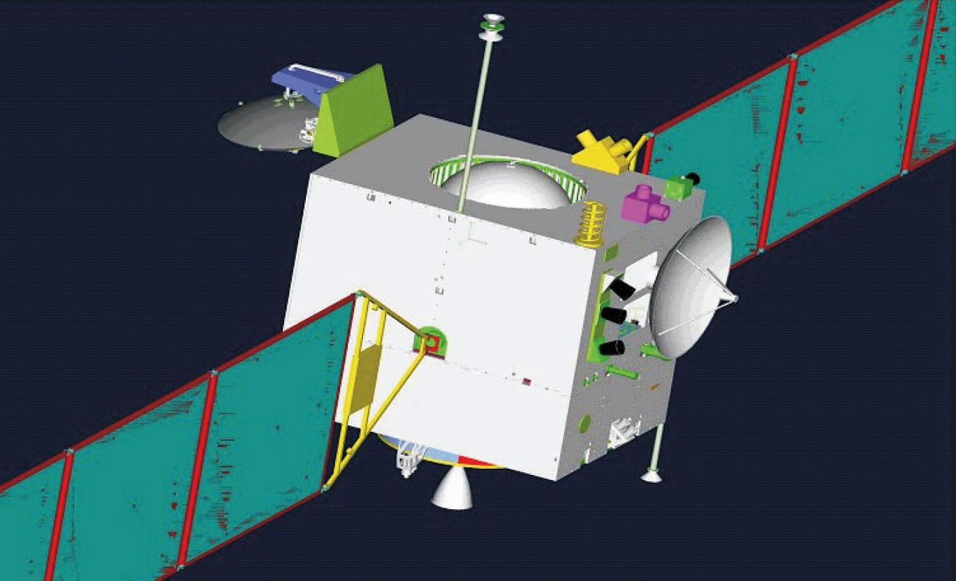 2008 - Chang'e 1 enters Moon orbit