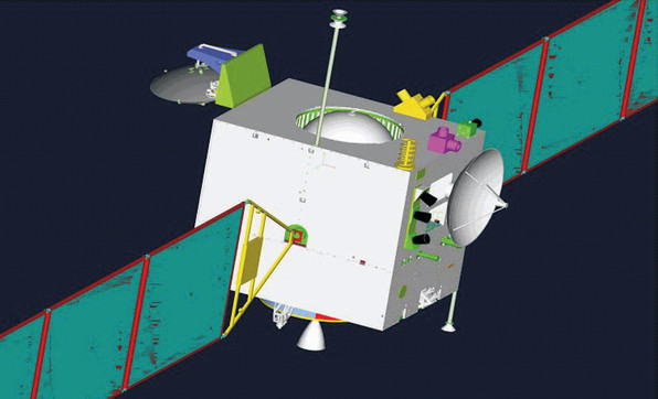 2008 - Chang'e 1 enters Moon orbit