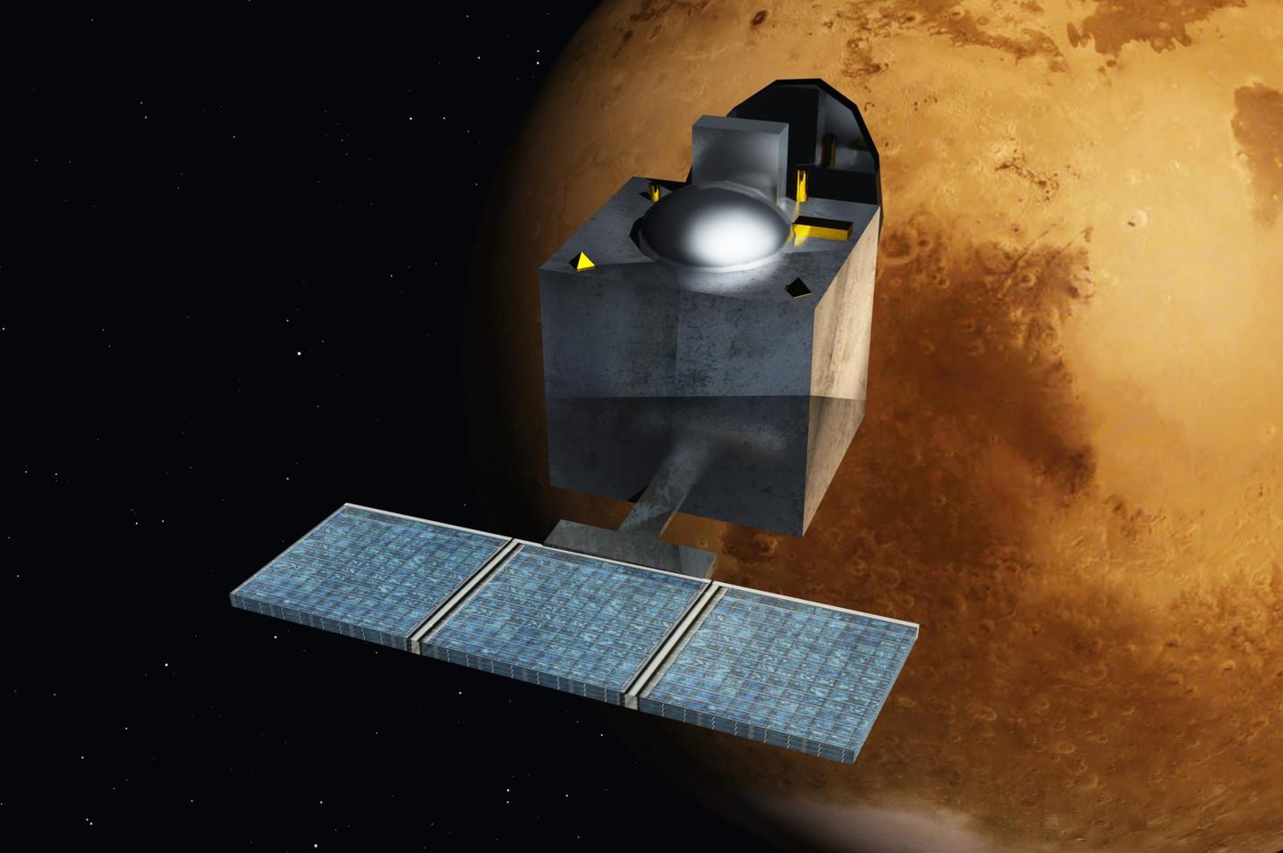 2014 - Mangalyaan enters Martian orbit