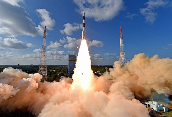 2012 - ISRO rockets - 100th launch