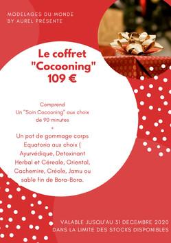 Coffret cocooning 109 Euros