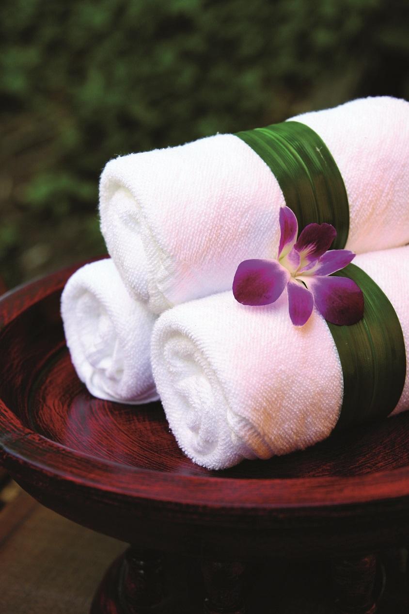 serviettes spa
