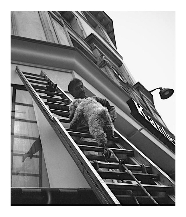 Nude Ascending a Ladder; Paris