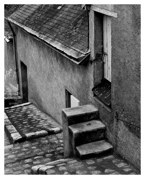 Steps; Chinon, France