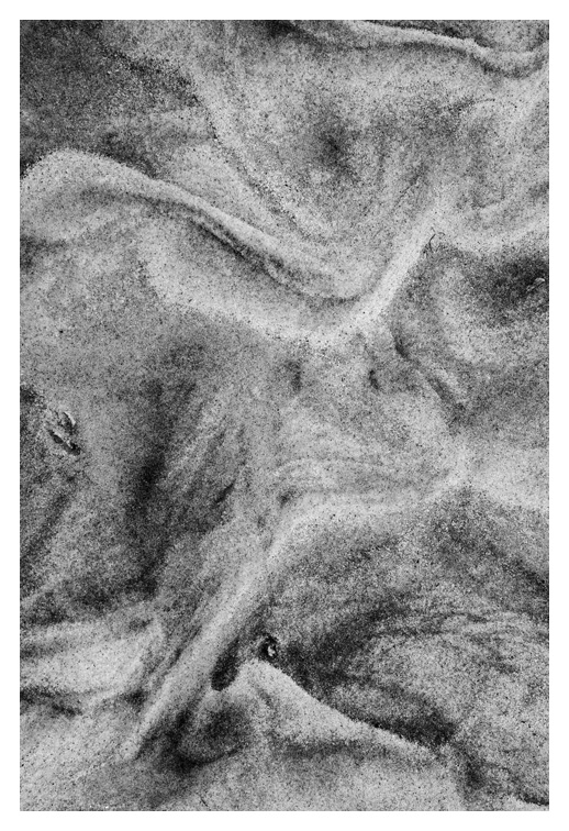 Sand Detail #14, Waterford, Conn