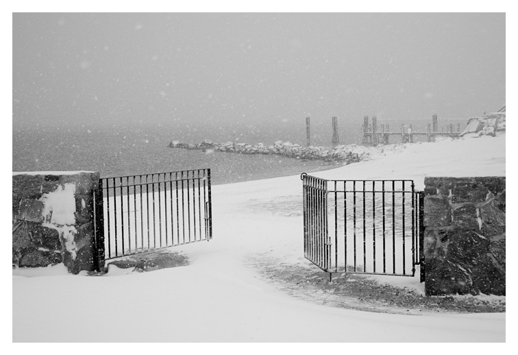 Winter Gate; Stonington, Ct.