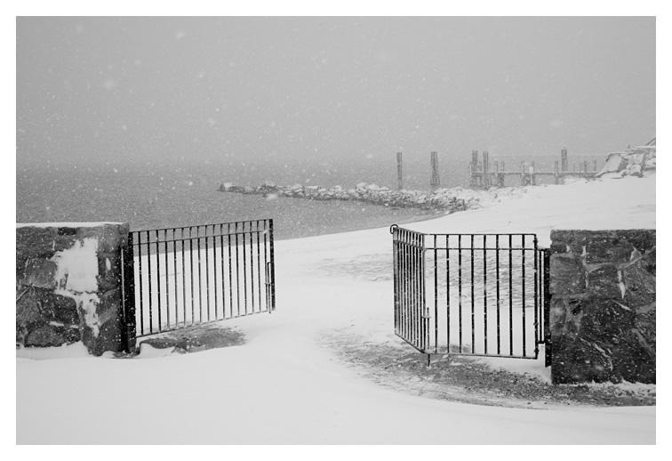 Winter Gate; Stonington, Ct.