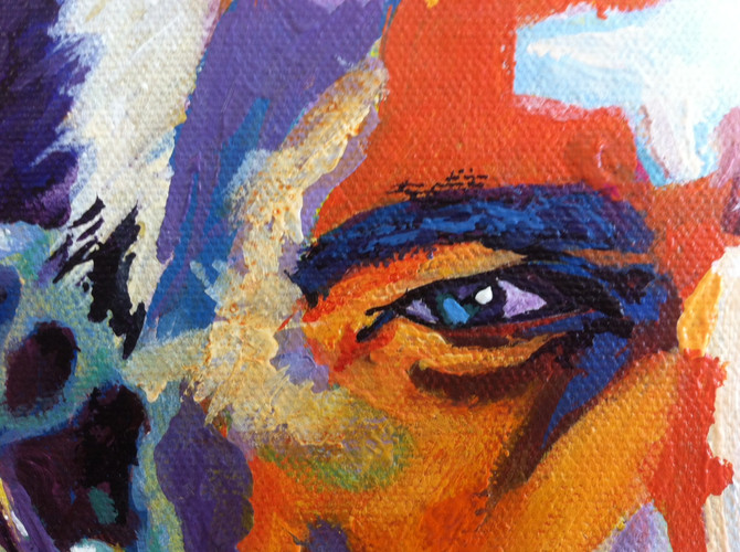 Click Here - to see the progress of the Wayne Bennett painting
