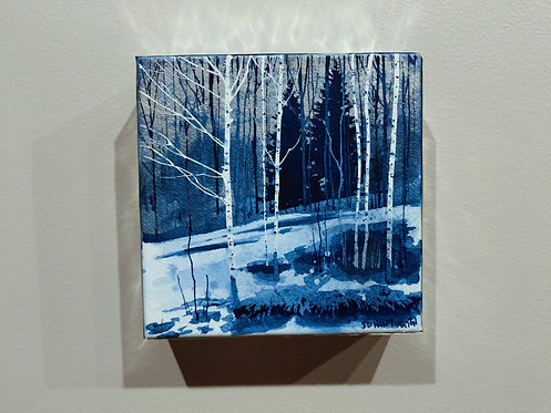 "Mini 3 ""Aspen On a Thawing Slope"""