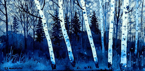 """""""Aspen on the Way to the Blueberry Farm""""i 18"""