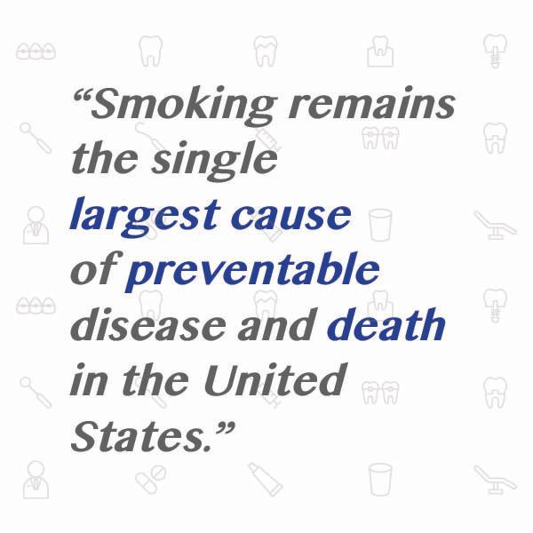Smoking, gum disease, raccio and drew, dental health
