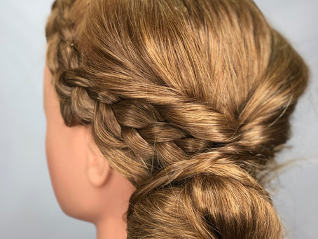Romantic Valentine's Updo, That You Can Do Yourself!