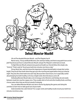 monster mouth activities, raccio and drew, dentist in waterford, ct