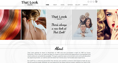 That Look Website | Web Design by SoMa Boutique Markeing