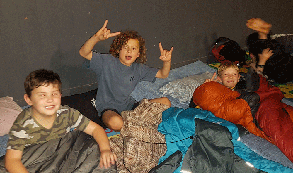 Kids Rock Sleepover