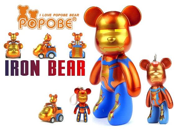 Iron Bear x4 - Ride, Keychain, Large Keychain and Medium Bear