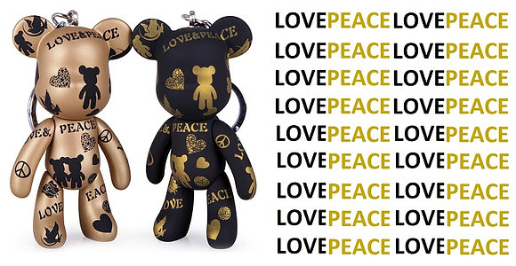 Love & Peace POPOBE Keychain Figures