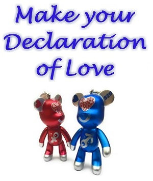 Declaration of Love for him and for her