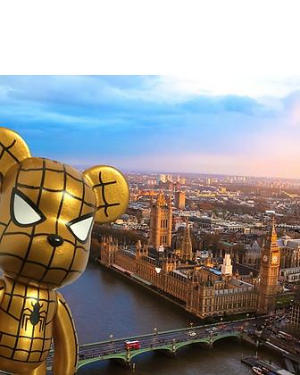 SpiderBear SE Keychain