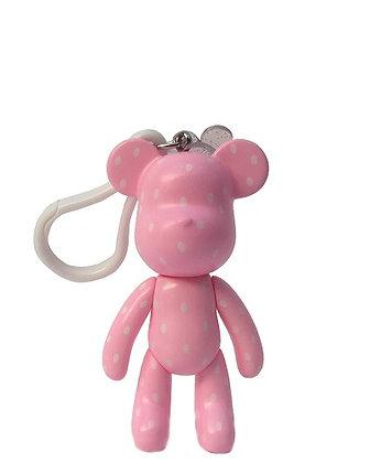Rose Pink Keychain