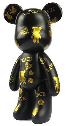 Peace and Love - Black