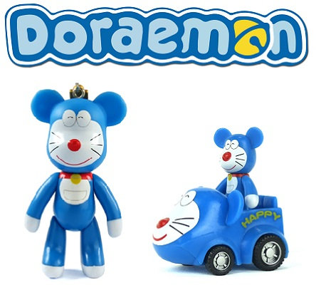 Doraemon POPOBE BEAR Ride and Keychain