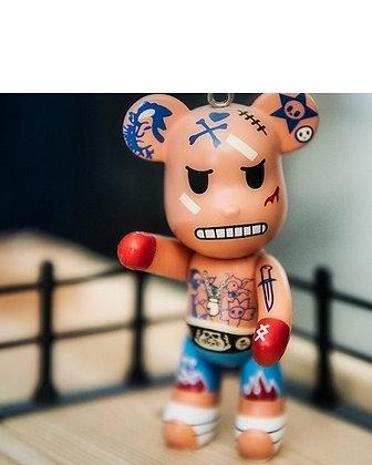 Thai Boxer Keychain
