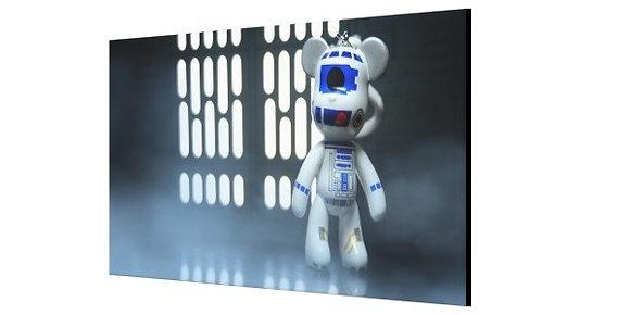 LIMITED EDITION R2-D2 CANVAS PRINT - 120 x 60cm