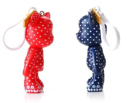 Spotty and Dotty Keychains