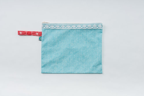 Bolsa Biquini Azul Turquesa