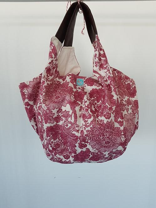 Beach Bag Encarnado Plastificado