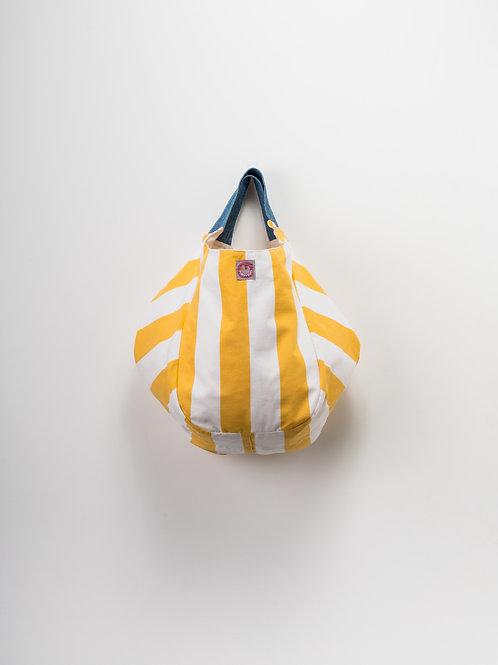 Beach Bag - Riscas Amarelas