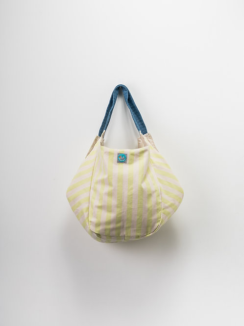 Beach Bag - Riscas Verdes