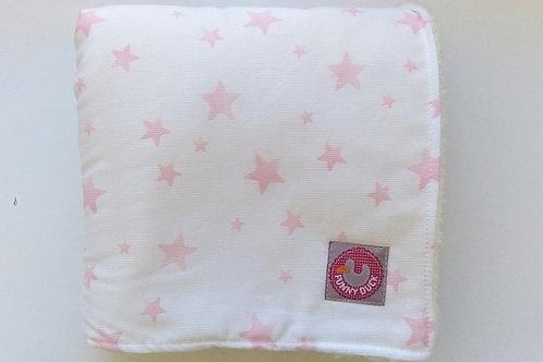 Mantinha Estrelas Rosa