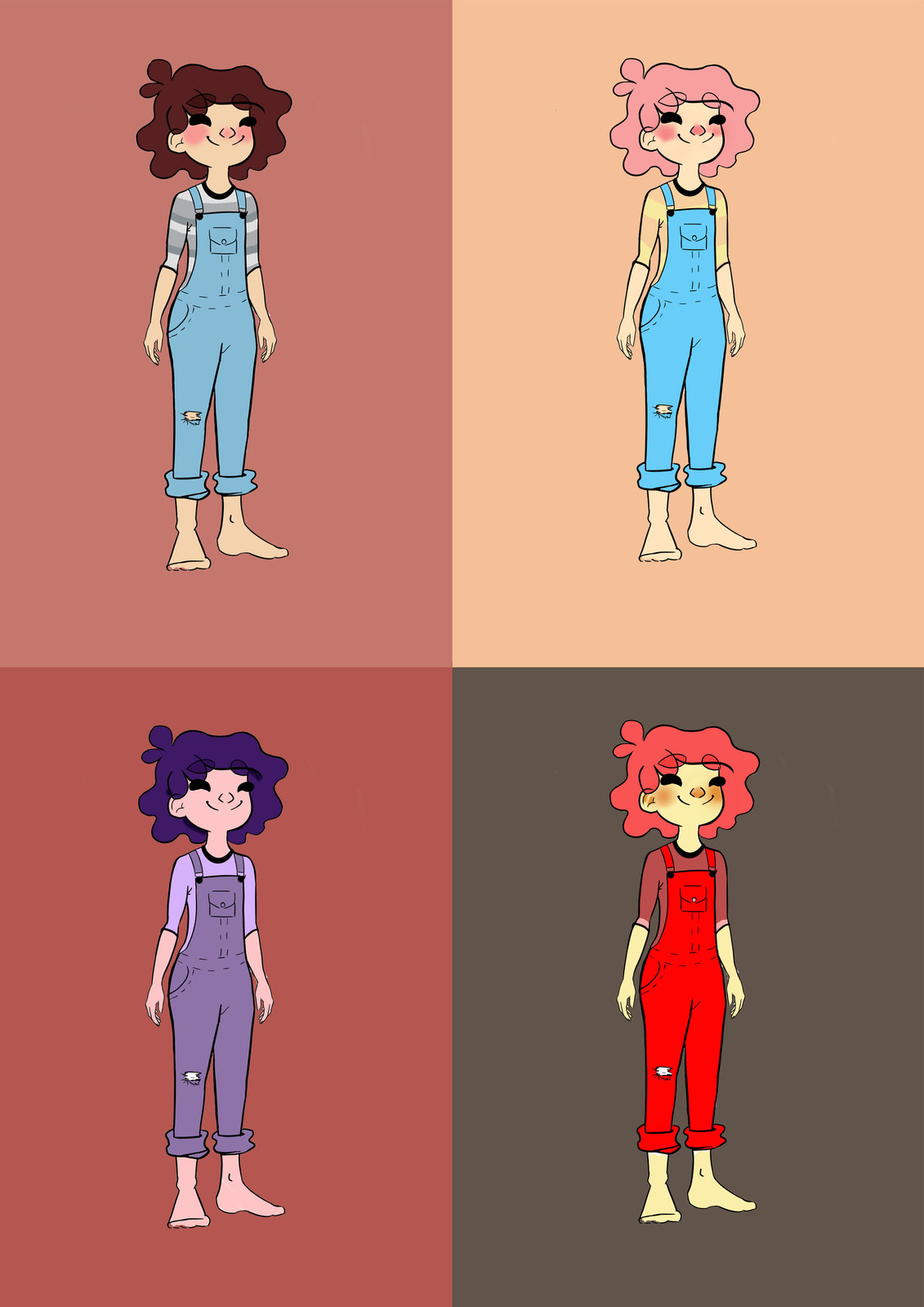 H Sweeney Character Design