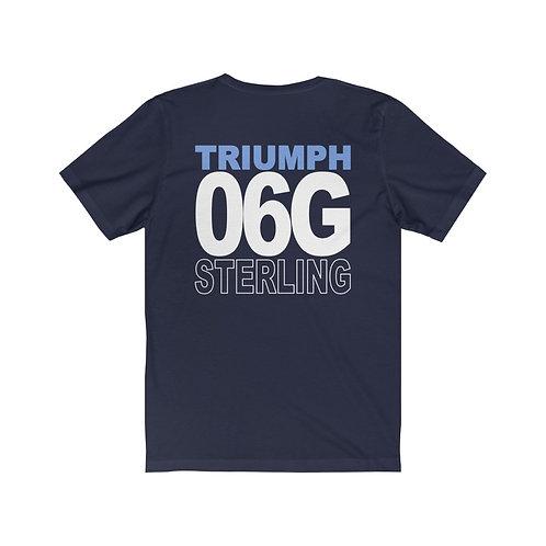 Team Gear - 06G STERLING - Unisex Jersey Short Sleeve Tee